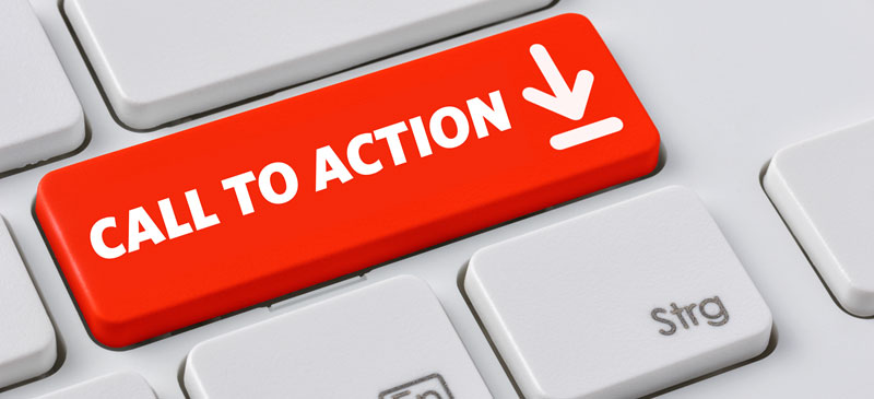 "Include a ""CALL TO ACTION"" in all your Pinterest pins."